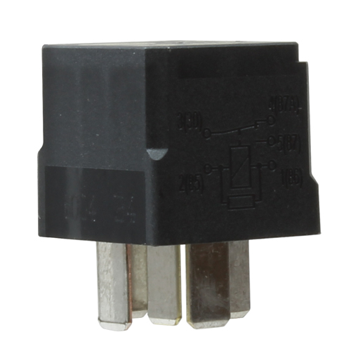 VSM129 30 amp OEM relay designed for turn signal switches, headlight dimming, horn, fog light, radio kill switch, clearance or marker light applications.