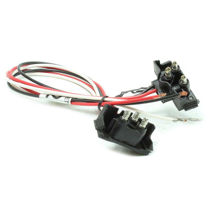 vsm91282 molded right angle 2-plug string harness for vsm6000 or  vsm6400-series two