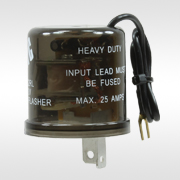 Heavy-duty turn signal and hazrd flashers and relays
